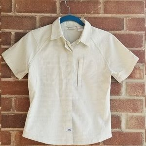 North Face Button Down Shirt size S-P